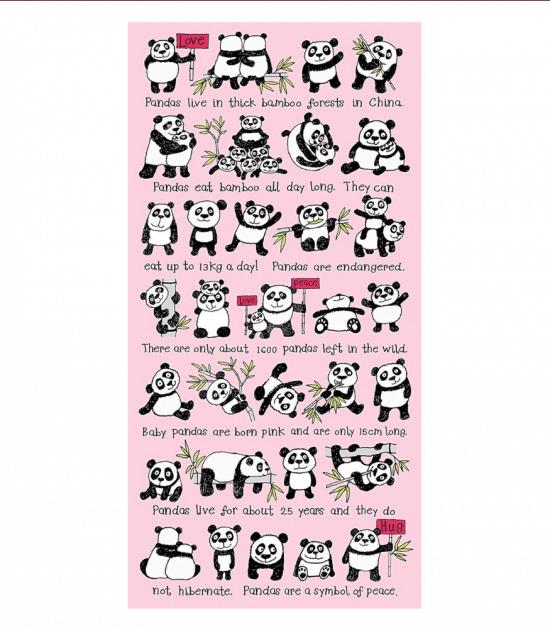 Tyrrell Katz Havlu (Panda)