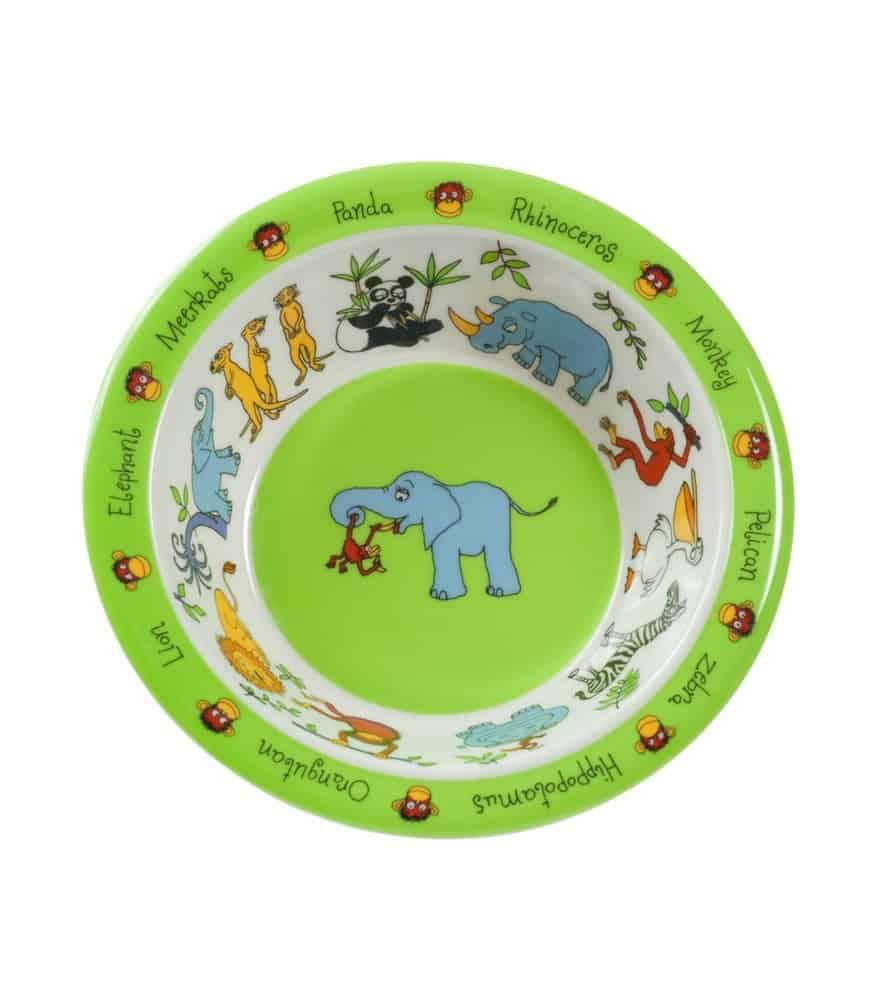 Tyrrell Katz Melamin Çocuk Yemek Kase (Orman Hayvanları)