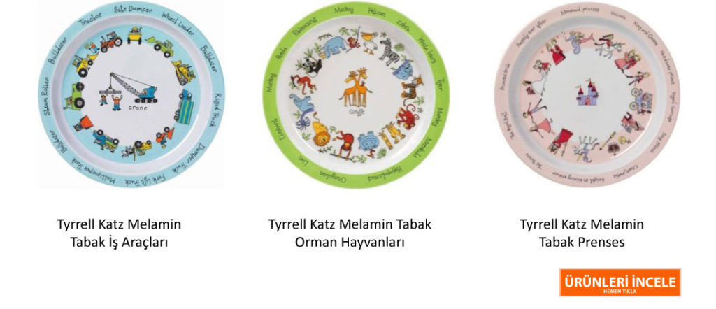 Tyrrell Katz Melamin Tabak