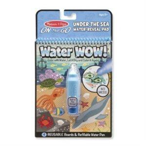 Melissa & Doug Water Wow! Su ile boyama kitabı (Deniz)