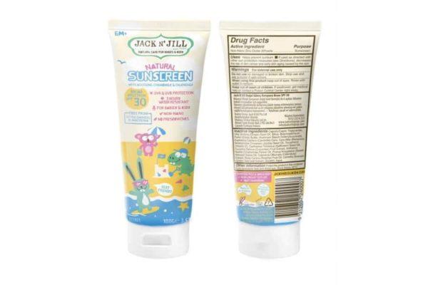 Jack N' Jill SPF30 Natural Sunscreen 100 ml