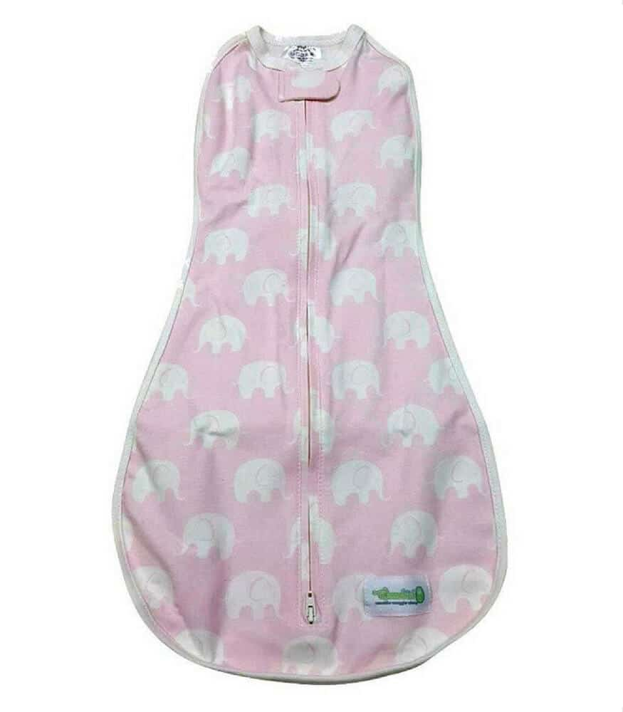 Woombie Original Kundak Baby Pink Elephant(6