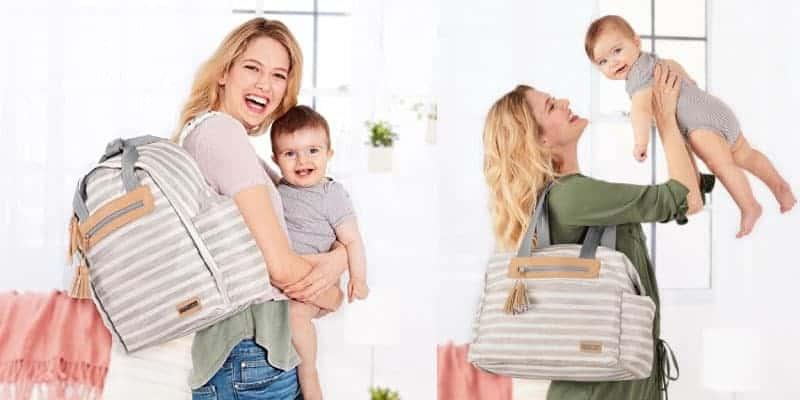 anne bebek sosyalleşmesinin en önemli detayı, bebek bakım çantaları