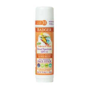 Badger Clear Zinc Çocuk Güneş Kremi Stick SPF35