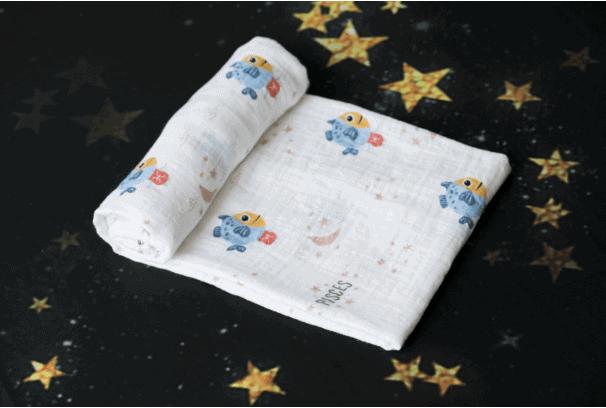 Momeasy Horoscope Müslin Örtü - Balık Burcu