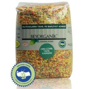 Beyorganik Organik Çorbalık Tahıl Karışımı (İçlü Mercimek) 1 Kg