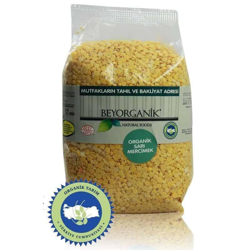 Beyorganik Organik Sarı Mercimek 500 Gr