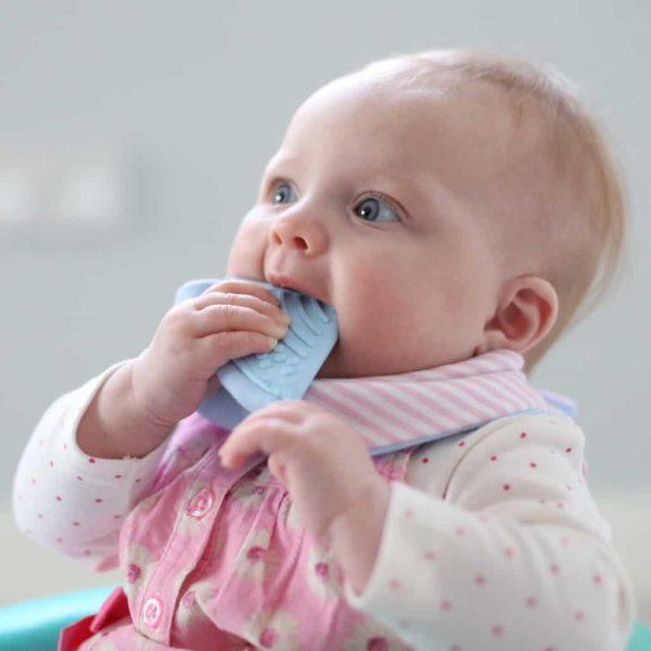 Cheeky Chompers Diş Kaşıyıcılı Fular Önlük (Cool Chic)