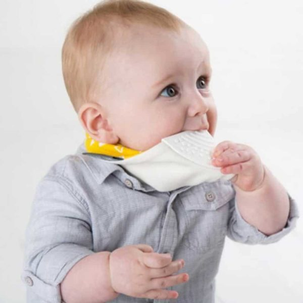 Cheeky Chompers Diş Kaşıyıcılı Fular Önlük (Scandi Chic)