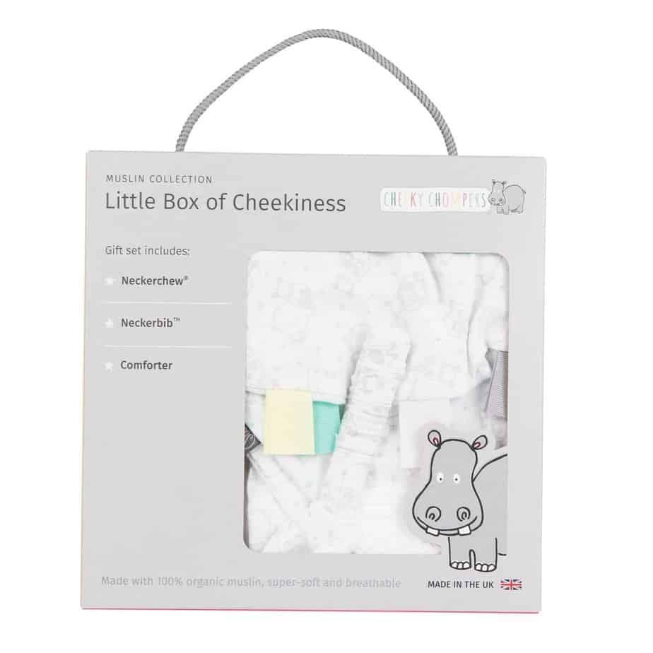 Cheeky Chompers Little Box of Cheekiness  (Cheeky Hippo)