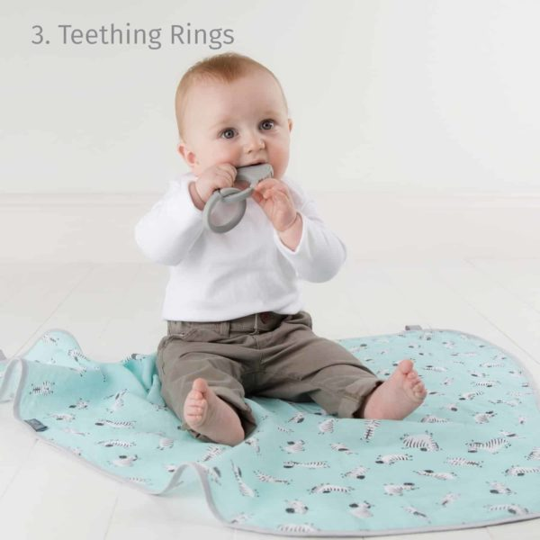 Cheeky Chompers MultiMuslin (Zebra Dreams)
