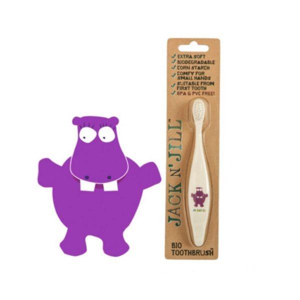 Jack N'Jill Diş Fırçası Hippo