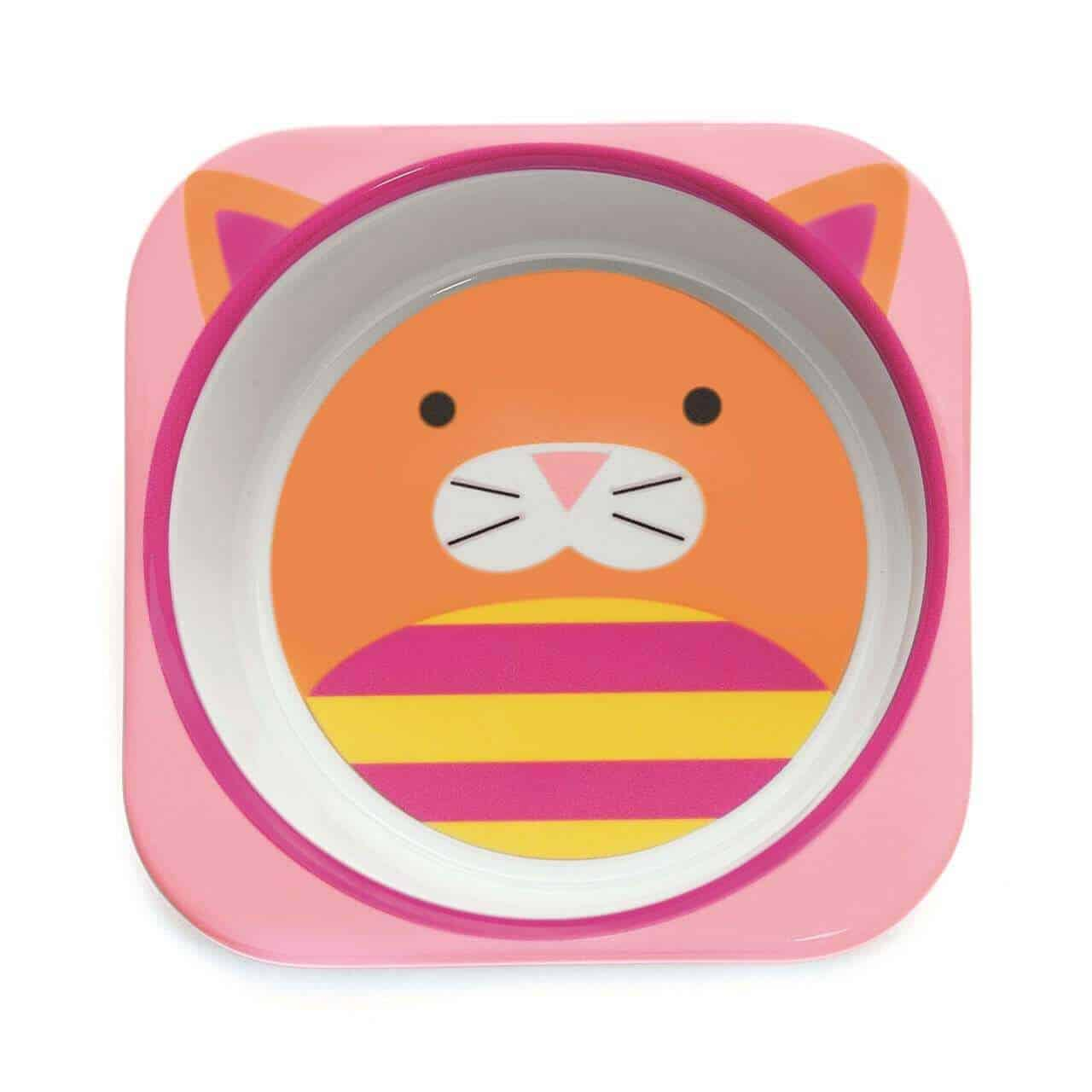 Skip Hop Çukur Yemek Kasesi(Kedi)