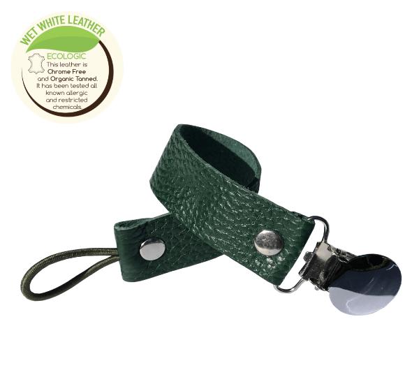 KIDFUL - Bitkisel Boyalı Emzik Askısı Emerald