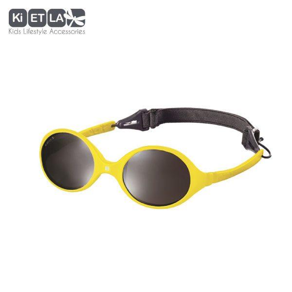 Kietla Diabola güneş gözlüğü sarı 0-18 ay