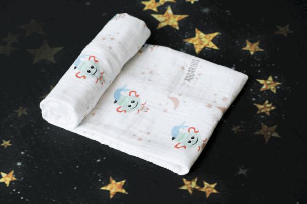 Momeasy Horoscope Müslin Örtü - Kova Burcu