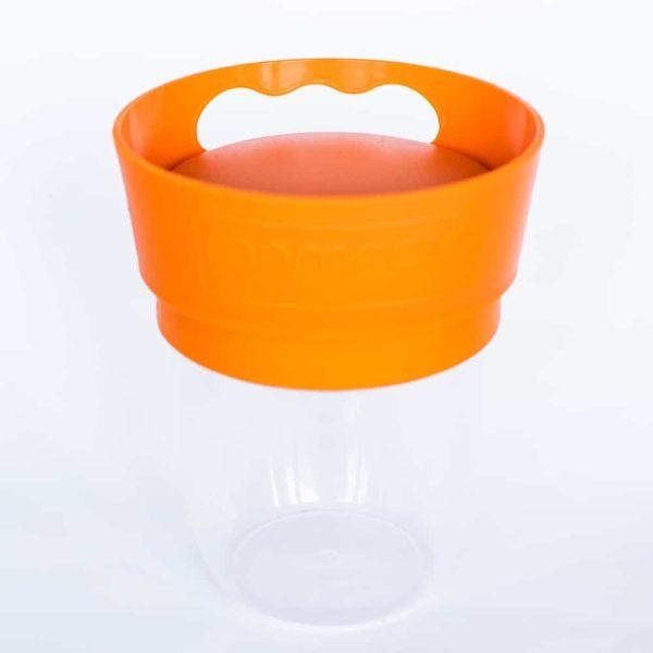 Mamacup Atıştırma Bardağı Turuncu