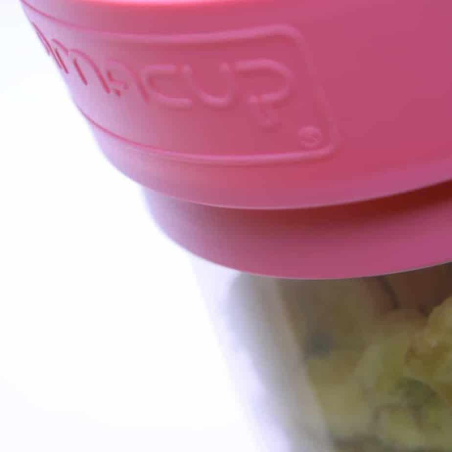 Mamacup Atıştırma Bardağı Pembe