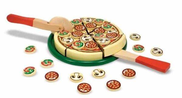 Melissa & Doug Ahşap Pizza Partisi