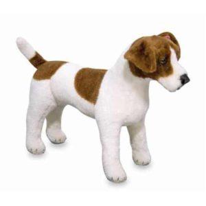 Melissa & Doug Dev Peluş (Köpek) - Jack Russel Terrier
