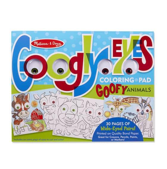 Melissa & Doug Dev Boyama Kitabı (Komik Hayvanlar)