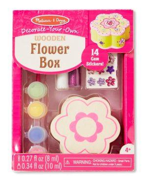 Melissa & Doug Ahşap Çiçek Kutu (Sen Yap Sen Oyna)