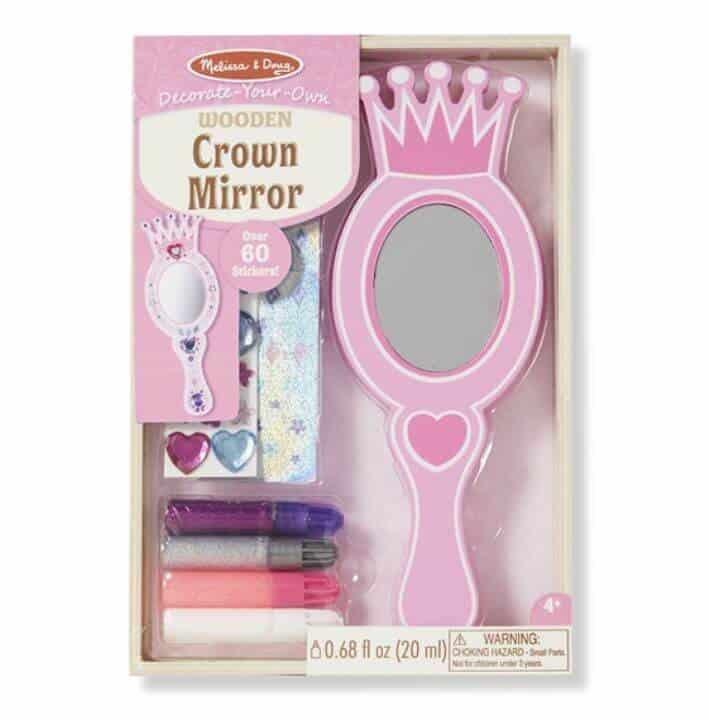 Melissa & Doug Ahşap Prenses Aynası (Sen Yap Sen Oyna)