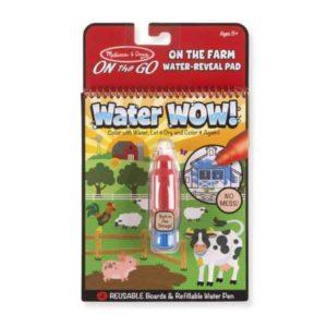 Melissa & Doug Water Wow! Su ile boyama kitabı (Çiftlik)