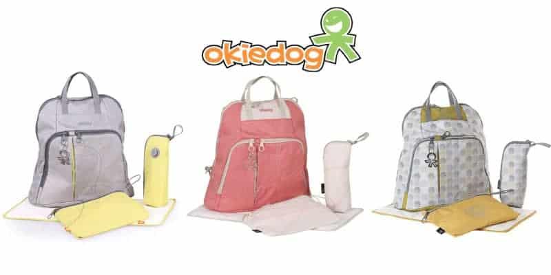 okiedog bebek bakım çantası