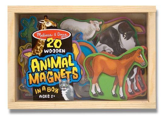 Melissa & Doug Ahşap Mıknatıslı Hayvanlar