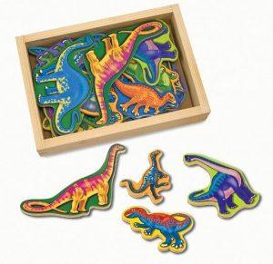 Melissa & Doug Ahşap Mıknatıslı Dinozorlar