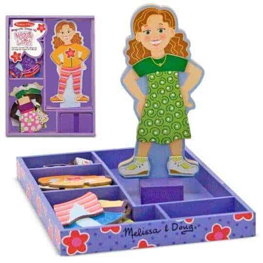 Melissa & Doug Ahşap Mıknatıslı Giydirme - Maggie