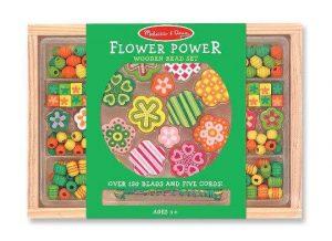 Melissa & Doug Ahşap Boncuk Dizme (Çiçeğin Gücü)