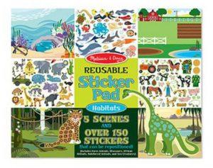 Melissa & Doug Tak Çıkar Çıkartma Kitabı (Hayvanlar)