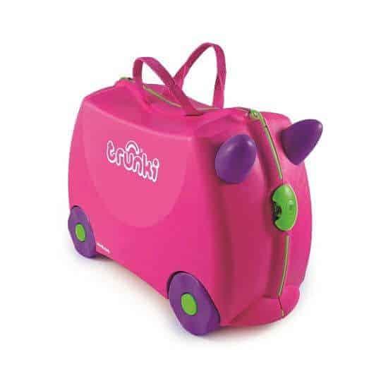 Trunki Çocuk Bavulu Pembe Trixie