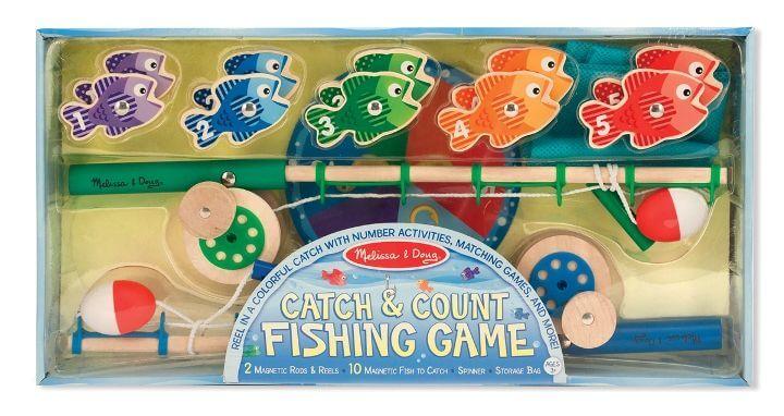 Melissa & Doug Balık Tutma Oyunu - Yakala ve Say