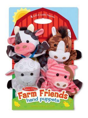 Melissa & Doug El kukla seti (Çiftlik Hayvanları)