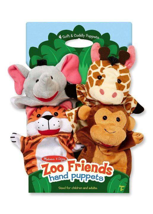 Melissa & Doug El kukla seti (Hayvanat Bahçesi)