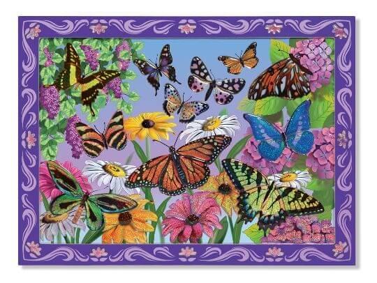 Melissa & Doug Tablo - Yapıştır Yarat (Kelebekler)