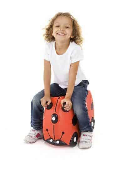 Trunki Çocuk Bavulu - Uğur Böceği Harley