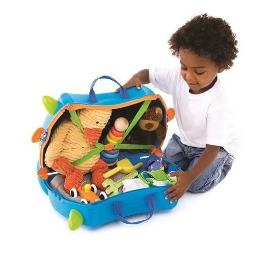 Trunki Çocuk Bavulu - Mavi Terrance