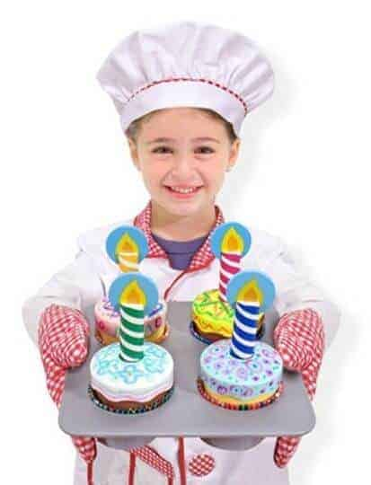 Melissa & Doug Ahşap Cupcake Seti