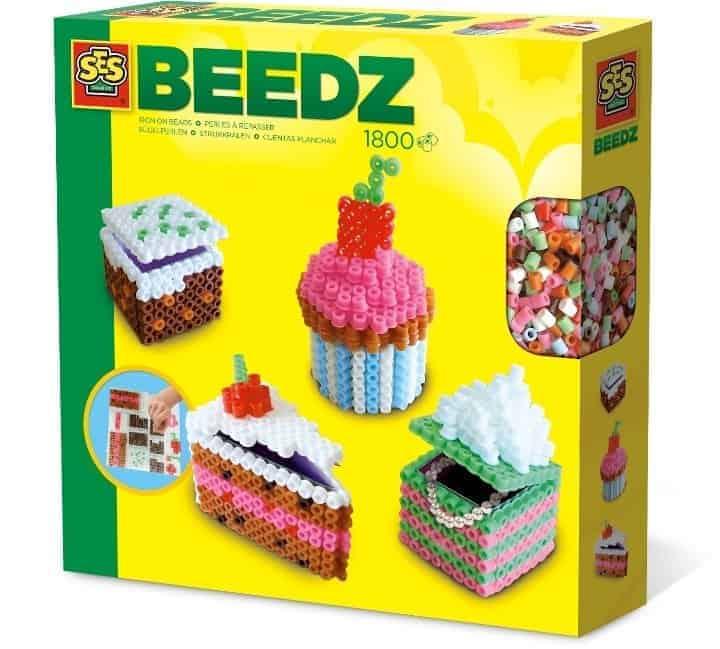 Ses Creative Beedz- İtü Boncuk Seti - 3 Boyutlu Pastalar