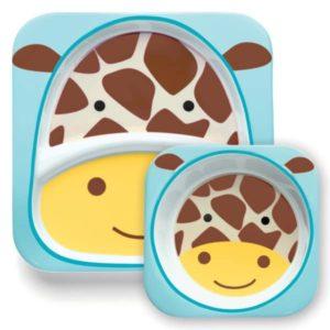 Skip Hop Tabak ve Kase Seti Zürafa