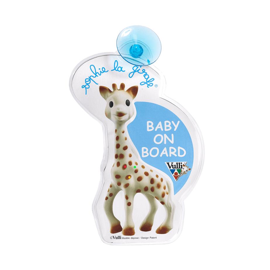Sophie la Girafe Işıklı Arabada Bebek Var