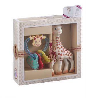 Sophie la Girafe Sophiesticated Yeni Doğan Hediye Seti 3