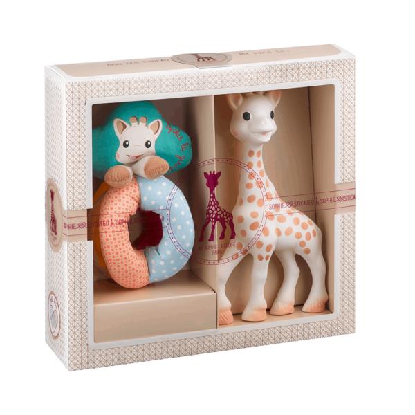 Sophie la Girafe Sophiesticated Yeni Doğan Hediye Seti 2