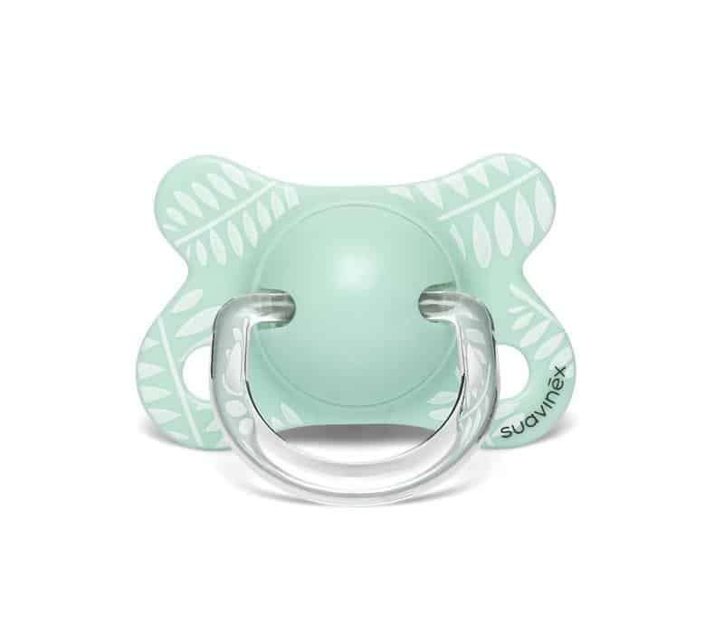 Suavinex Fusion Fizyolojik Silikon Emzik ( -2 aydan 4 ay) Yeşil-Butterfly