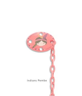 Suavinex Total Look Oval Emzik Zinciri (IndiansPembe)