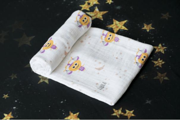 Momeasy Horoscope Müslin Örtü - Terazi Burcu